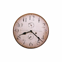Original Howard Miller III Round Wall Clock - Howard Miller