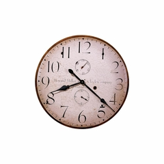 Original Howard Miller IV Round Wall Clock - Howard Miller