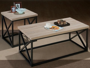 Orion Ash X Side 3PC Accent Table Set - 172