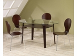 Orval 5 Piece Table and Chair Set with Shelf - 120791
