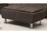 Ottoman with Flip-Over Serving Trays - 300278