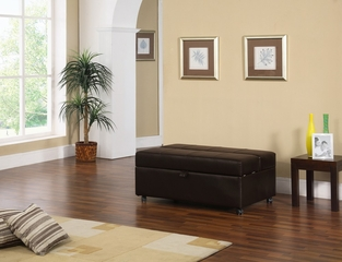 Ottoman with Pull-Out Bed - Glendale - Lifestyle Solutions - CA-GD-TW-FA-DB