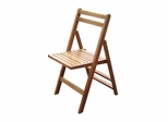 Outdoor Folding Chair (Set of 4) in Natural - Merry Products - MPG-TBS01-CH