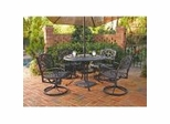 Outdoor Patio Collection in Black - Home Styles