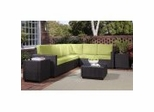 Outdoor Patio Collection in Green Apple - Riviera - Home Styles