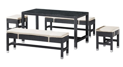 Outdoor Patio Set 1 - Myrtle - Zuo Modern - MYR-SET-1