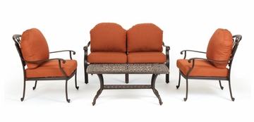 Outdoor Patio Set - Florence - Caluco - FL-PATIO-SET-4