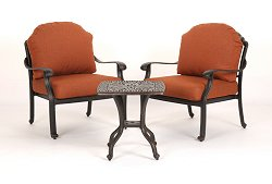 Outdoor Patio Set - Florence - Caluco - FL-PATIO-SET-5