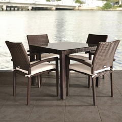 Outdoor Patio Set - Liberty 5-Piece Dining Set - PLI-LIBERSET5