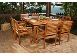 Outdoor Patio Set - Milano Square 9-Piece Set - BT-SQUARE-SET