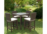 Outdoor Patio Set - Monza Bar 5-Piece Set - PLI-MONZASET5