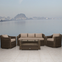 Outdoor Patio Set - Palma Conversation 4-Piece Set - PLI-PALMA4