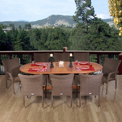 Outdoor Patio Set - Rennaisance 9-Piece Dining Set - BT-RENNAISANCE