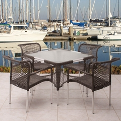 Outdoor Patio Set - Soho 5-Piece Dining Set - PLI-SOHO5