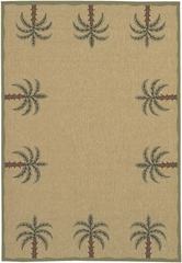 "Outdoor Rug - 7'3"" Round - Alfresco 9510 - Surya - ALF9510-73RD"