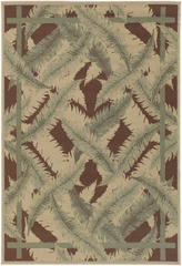 "Outdoor Rug - 7'3"" Square - Alfresco 9540 - Surya - ALF9540-73SQ"