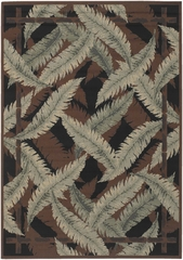"Outdoor Rug - 7'3"" Square - Alfresco 9541 - Surya - ALF9541-73SQ"