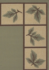 "Outdoor Rug - 8'9"" Square - Alfresco 9506 - Surya - ALF9506-89SQ"