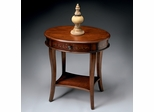 Oval Accent Table in Handpainted Cherry - Butler Furniture - BT-2417176