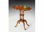 Oval Accent Table in Olive Ash Burl - Butler Furniture - BT-1387101