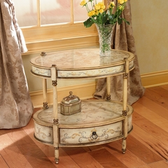 Oval Accent Table in Tuscan Cream - Butler Furniture - BT-0822041