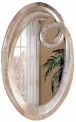 Oval Beveled Accent Mirror - 900188