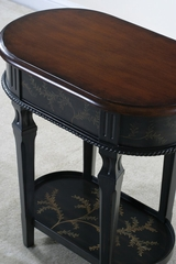 Oval Fern Lamp Table - Emerson - Ultimate Accents - 33351LT