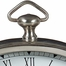 Oval Pewter Finish Desk Clock - IMAX - 7866