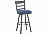 Owen Upholstered Swivel Bar Stool - Amisco - 41454-26