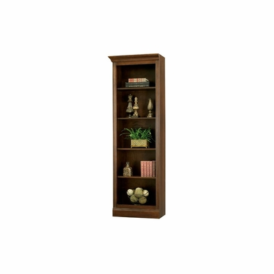 Oxford Bookcase Saratoga Cherry Left Return by Ty Pennington - Howard Miller