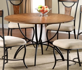 "Pacifico 48"" Dining Table - Hillsdale Furniture - 4137DTB"