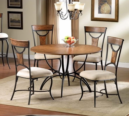 Pacifico 5-Piece Dining Room Furniture Set - Hillsdale Furniture - 4137DTBC