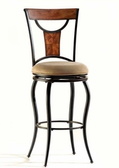 Pacifico Swivel Bar Stool - Hillsdale Furniture - 4137-830