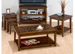Painted Hardwood 4-Piece Accent Table Set - 698-1
