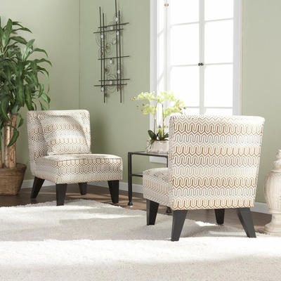 Pair of Celia Chairs/Pillows - Clapton Jade - Holly and Martin