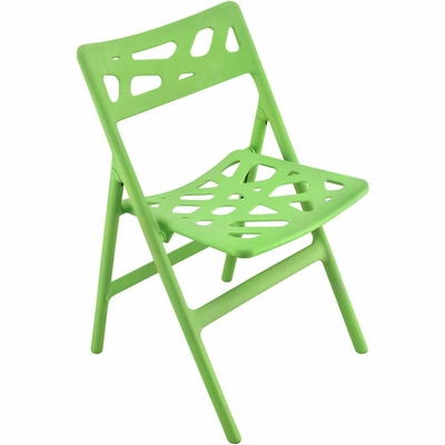 Pair of Cyclone Folding Chairs Green - Lumisource