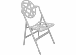 Pair of Grey Typhoon Chairs - Lumisource
