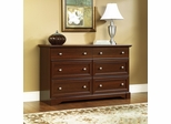 Palladia Dresser Select Cherry - Sauder Furniture - 411830