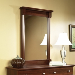 Palladia Mirror Select Cherry - Sauder Furniture - 412359