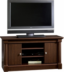 Palladia Panel TV Stand Select Cherry - Sauder Furniture - 411864