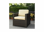 Palm Harbor Outdoor Wicker Chair - CROSLEY-CO7102-BR