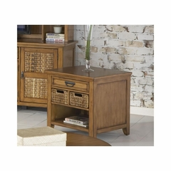 Palm Isle Rectangular End Table with Drawers - Largo - LARGO-ST-T1650-123