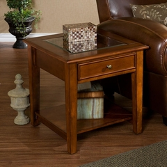 Panorama End Table - Walnut - Holly & Martin