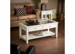 Panorama Occasional Table Set - Off White - Southern Enterprises