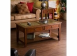 Panorama Occasional Table Set - Walnut - Southern Enterprises
