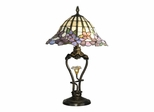 Pansy Table Lamp With Led Light - Dale Tiffany