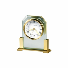 Paramount Glass Alarm Clock - Howard Miller