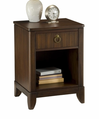 Paris Night Stand in Mahogany - Home Styles - 5540-42