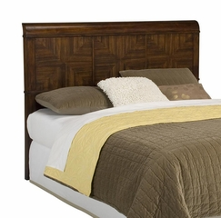 Paris Queen Size Headboard with Night Stand in Mahogany - Home Styles - 5540-5015