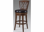 Paris Wood Swivel Stool Light Walnut - Set of 2 - Largo - LARGO-ST-D202B-2X